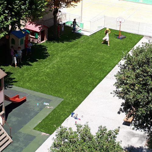 giardino della scuola