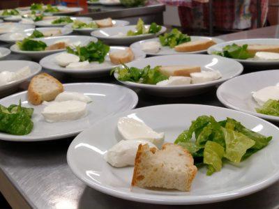 cucina della mensa